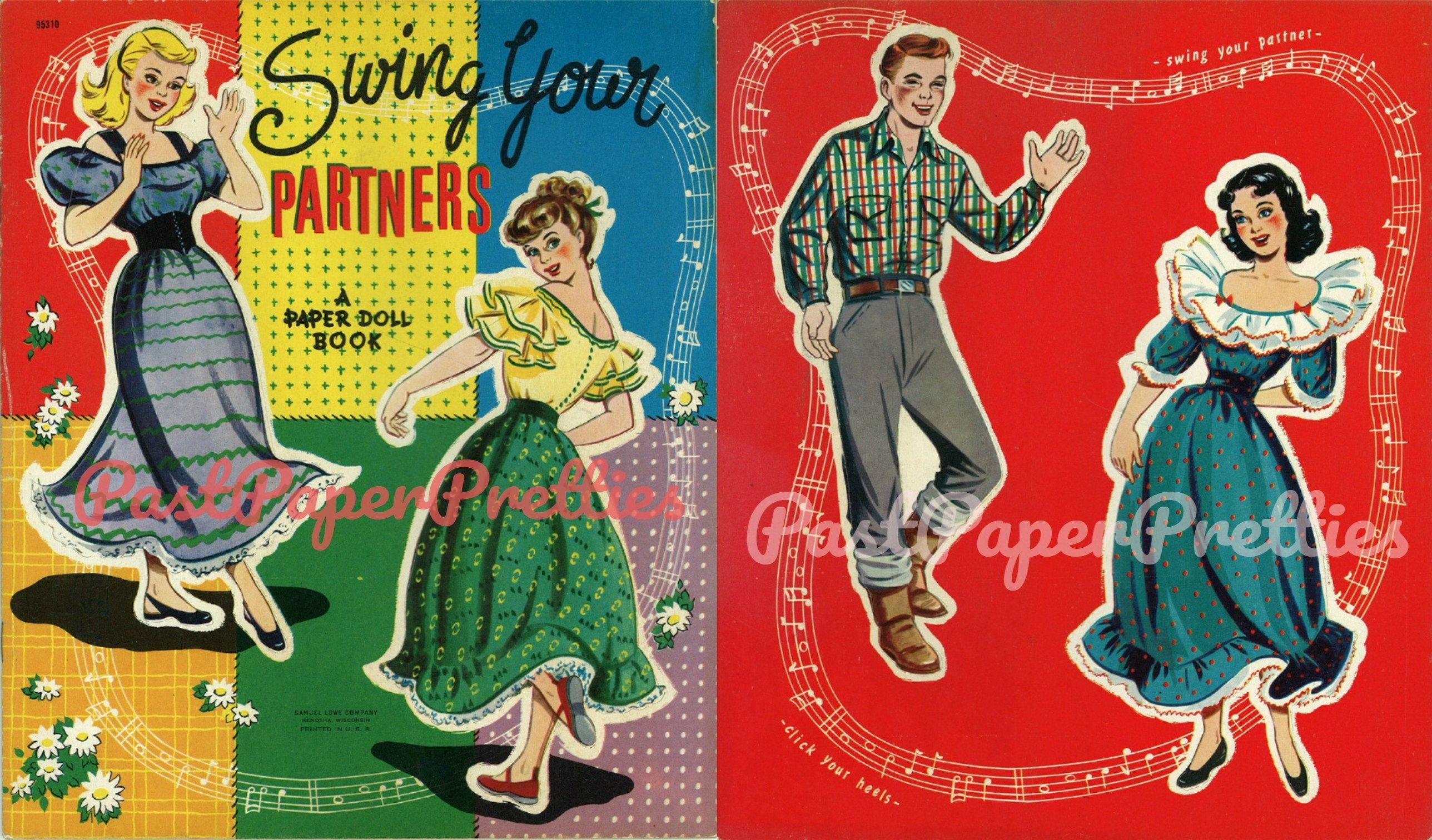 Pin On Vintage Printable Paper Dolls