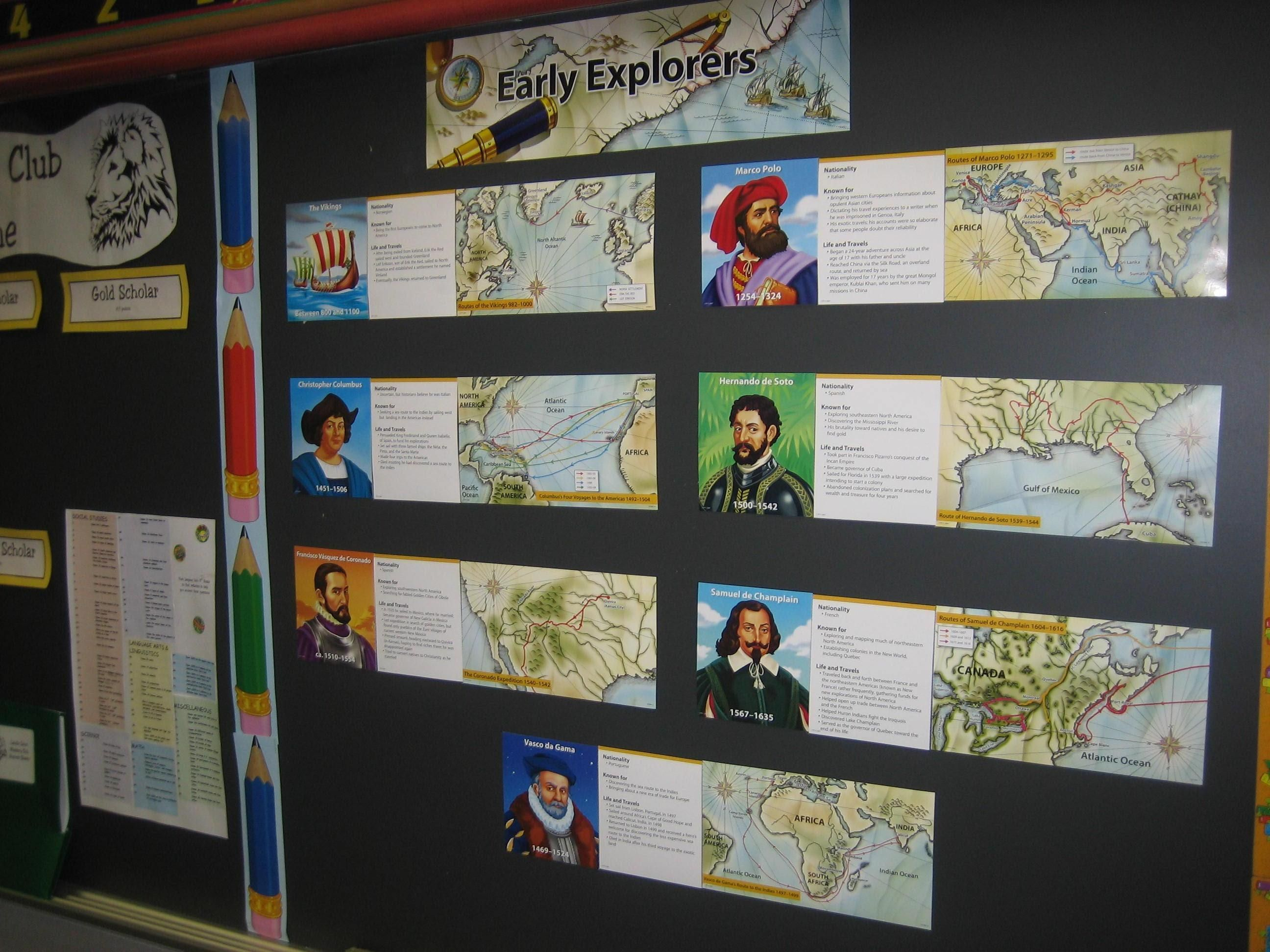 Early Explorers Informational Bulletin