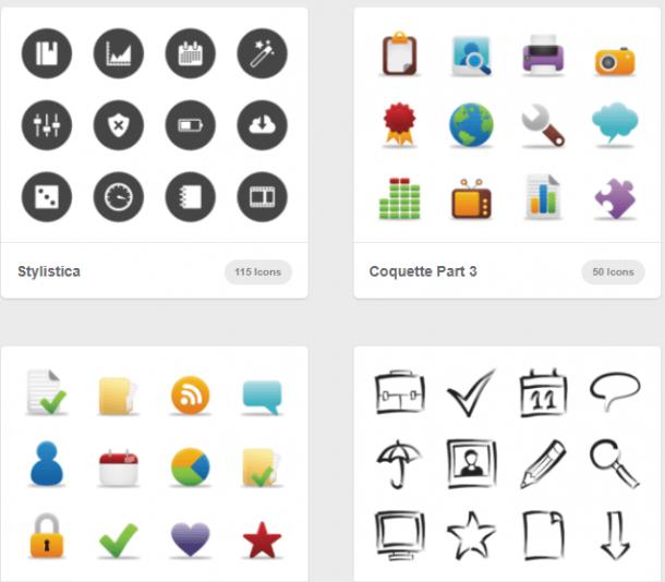 ICONOS GRATIS Páginas para descargar pack iconos