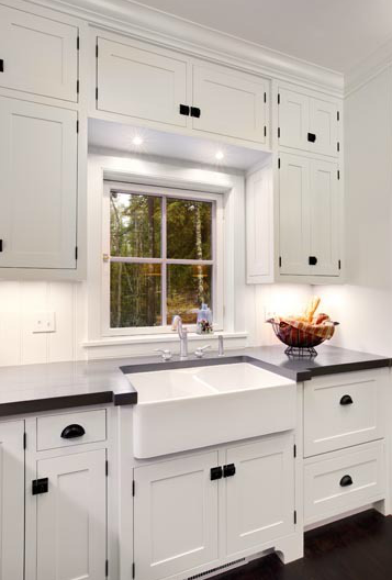 Shaker Cabinet Hardware Placement