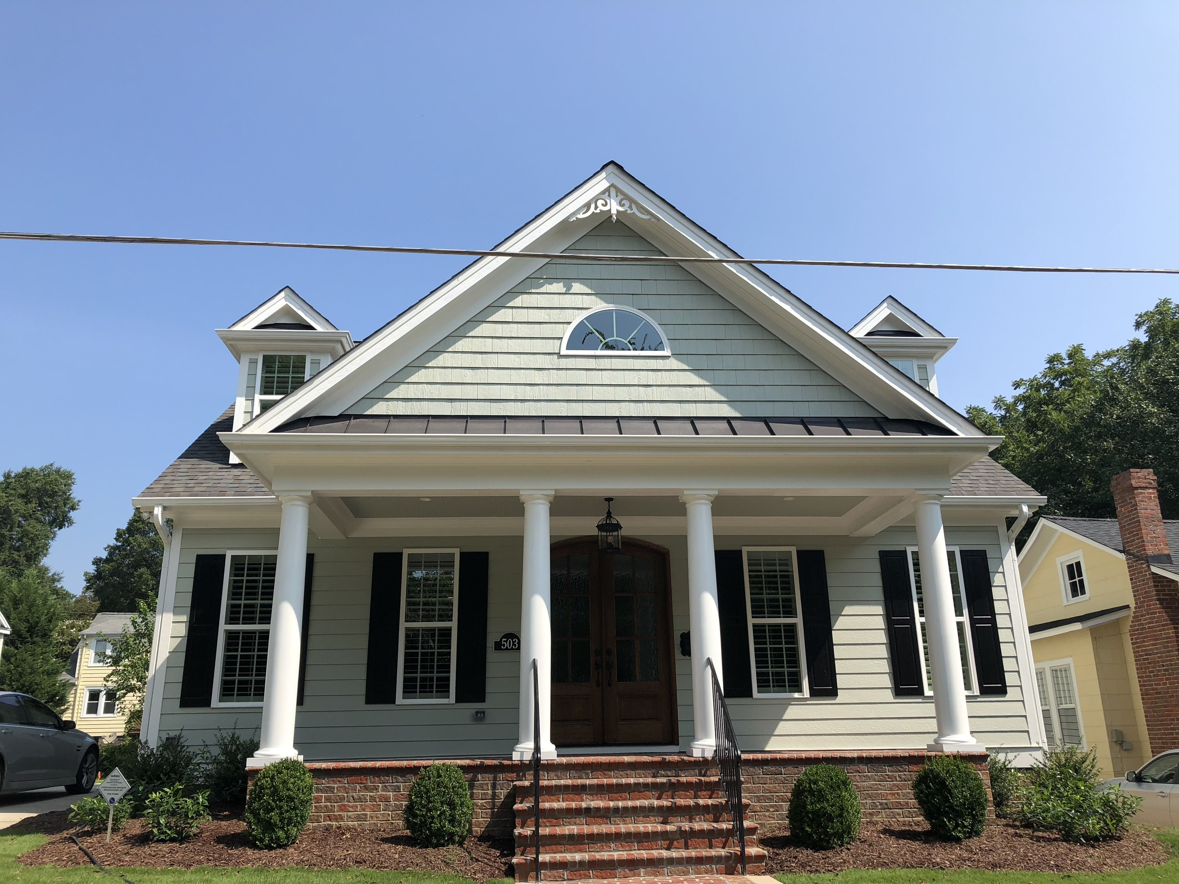 L and L of Raleigh built this custom home Inside the belt