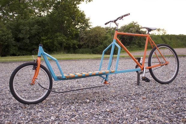 Build A 2 Wheel Cargo Bike Cargo Bike Bike Cargo Trailer Bike