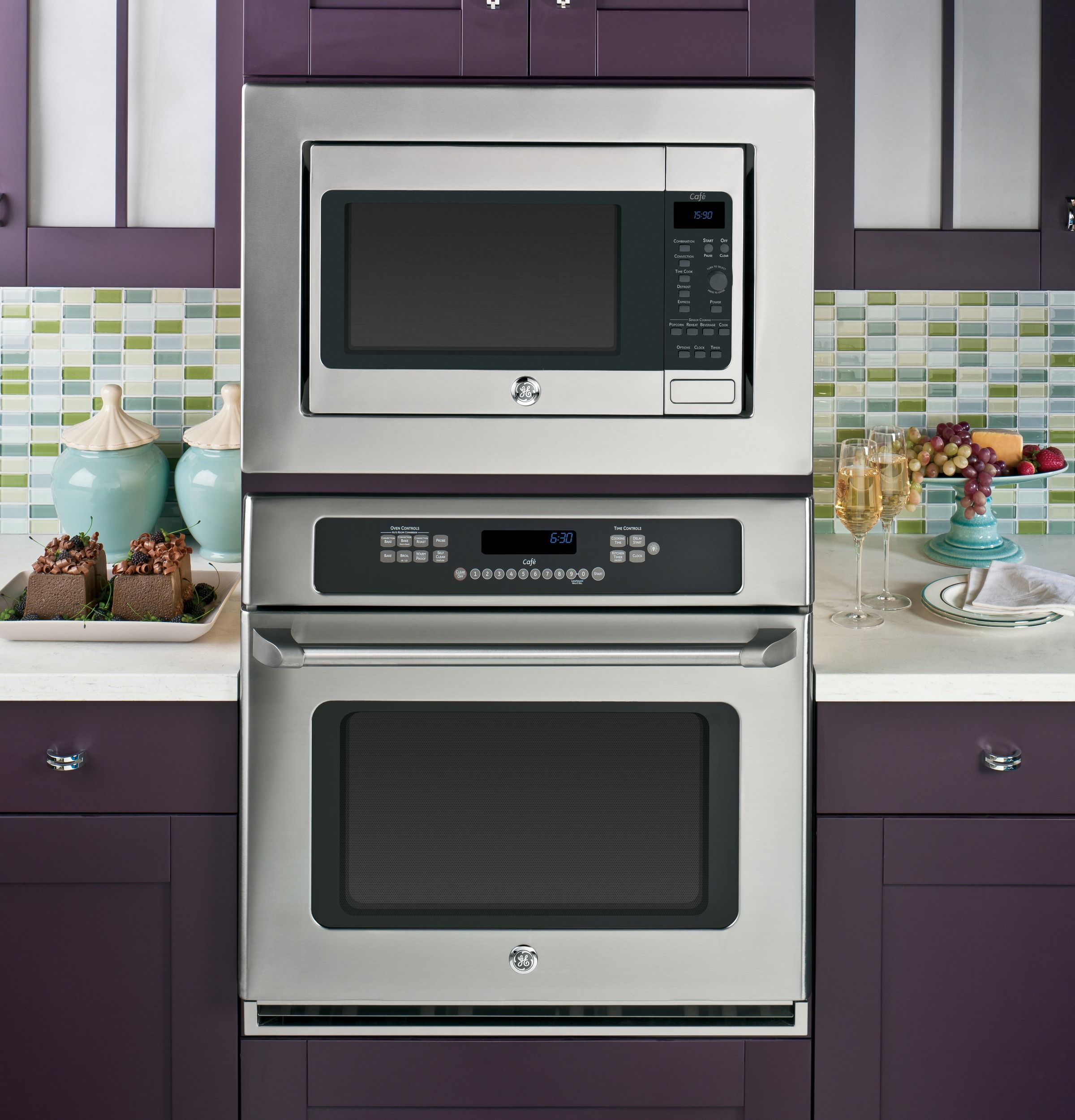CEB1590SSSS | GE Cafe™ Series 1.5 Cu. Ft. Countertop Convection ...