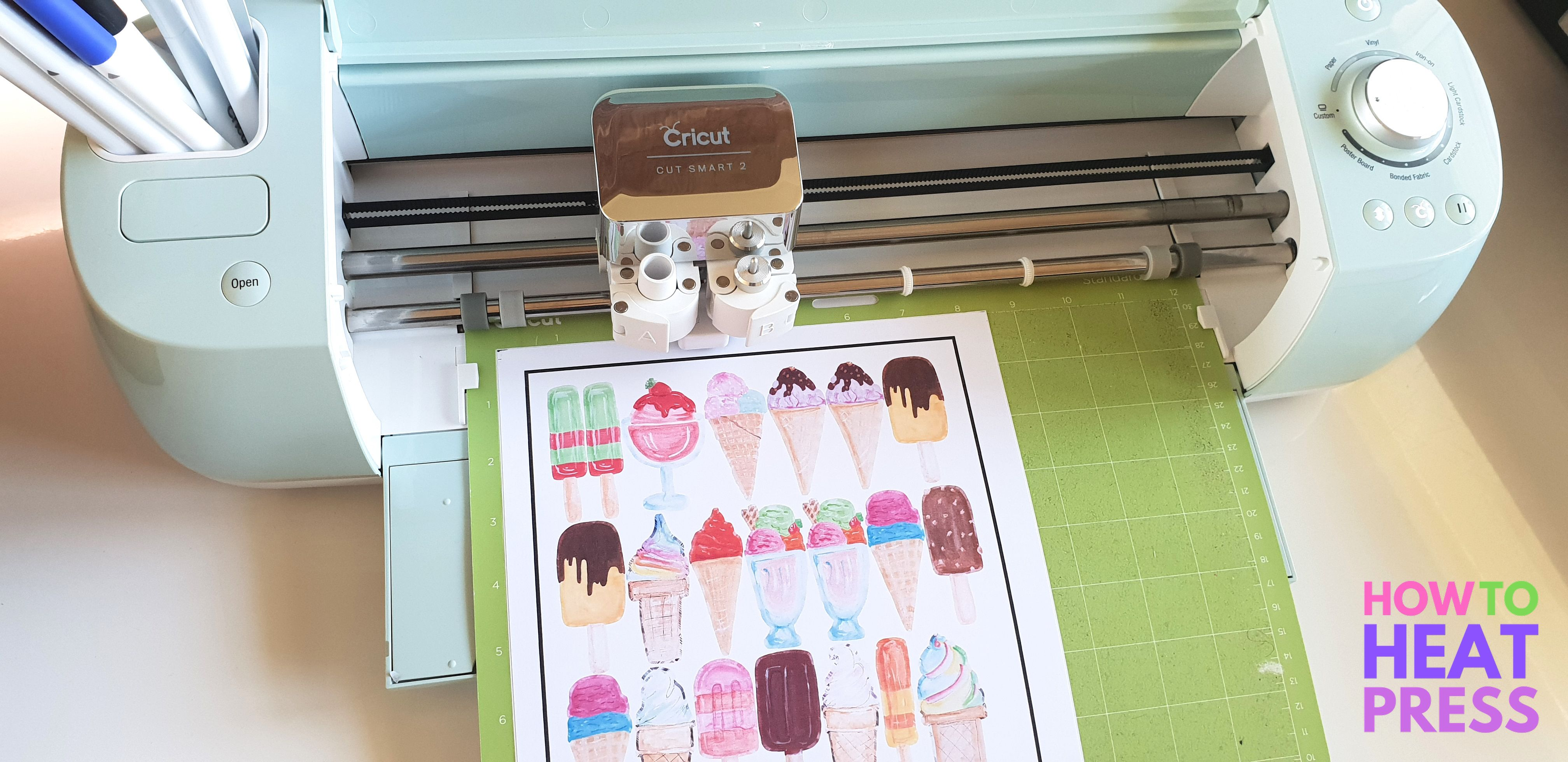 How To Use Cricut Print And Cut With Printable Vinyl  DIY Stickers! is part of Cricut print and cut, Printable vinyl, Diy vinyl, Cricut, Diy stickers, Heat transfer vinyl projects - Cricut printable vinyl is great for using the Cricut print & cut feature in Design Space  Check out my print then cut project & don't miss