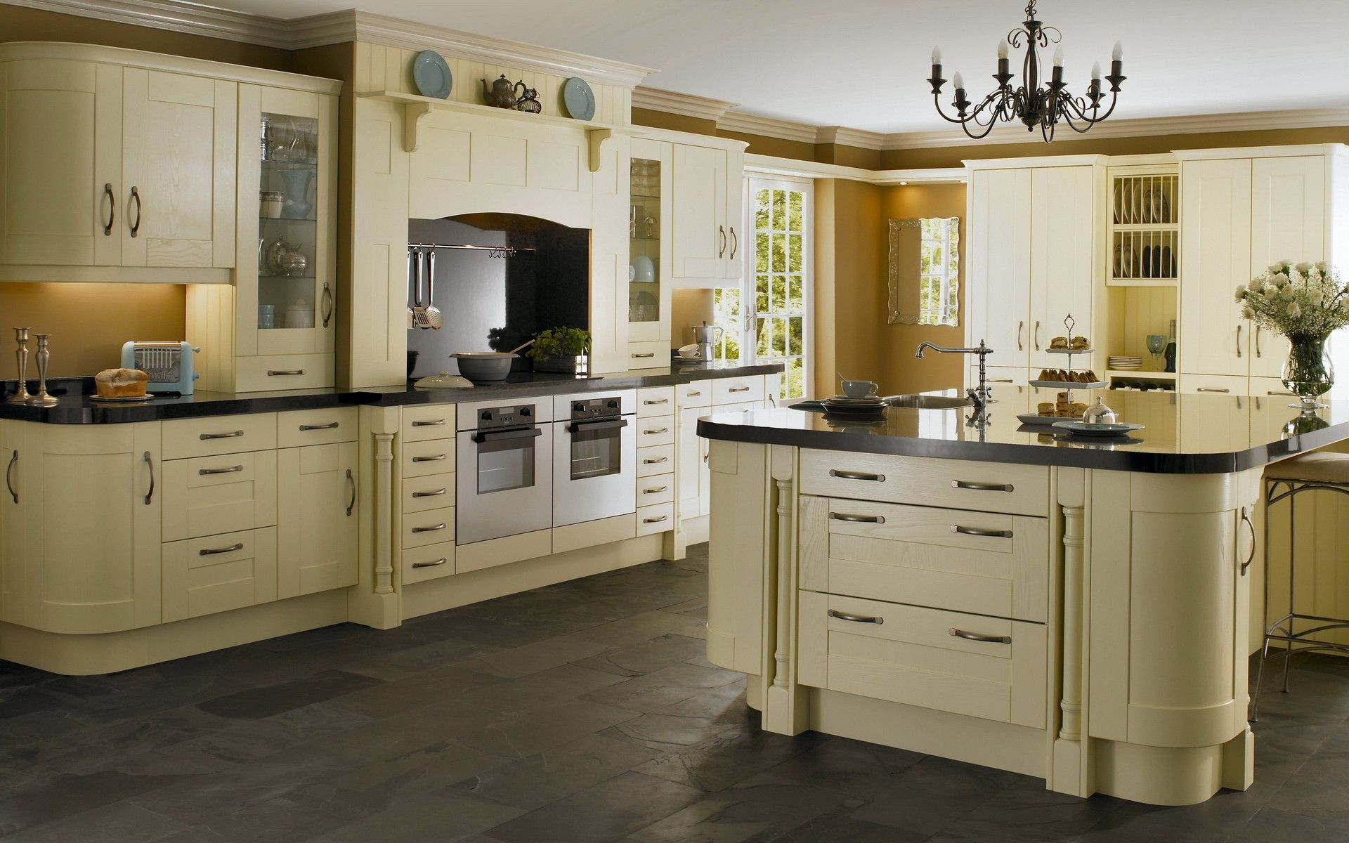 Best Cream Cabinets Grey Floor Images Google Search Luxury 400 x 300