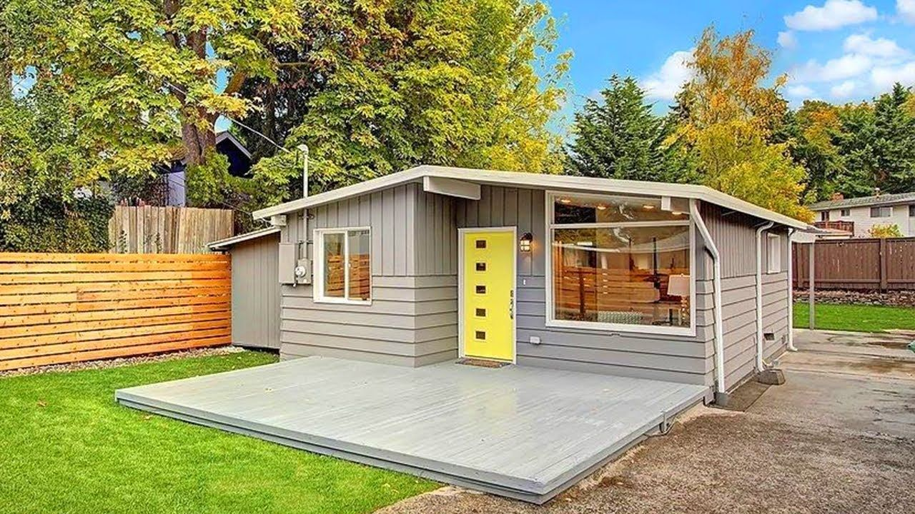 Seattle Modern The Best Small House Design I Ve Ever Seen Backyard Cottage Best Small House Designs Backyard Guest Houses