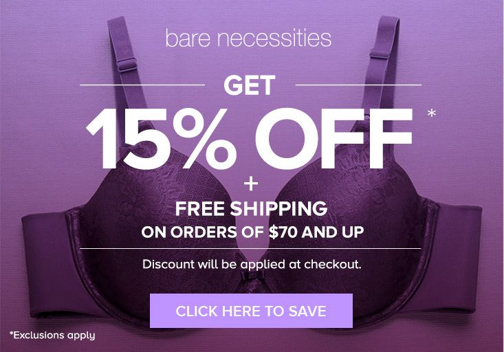 Bare Necessities Coupon Codes Promo Codes