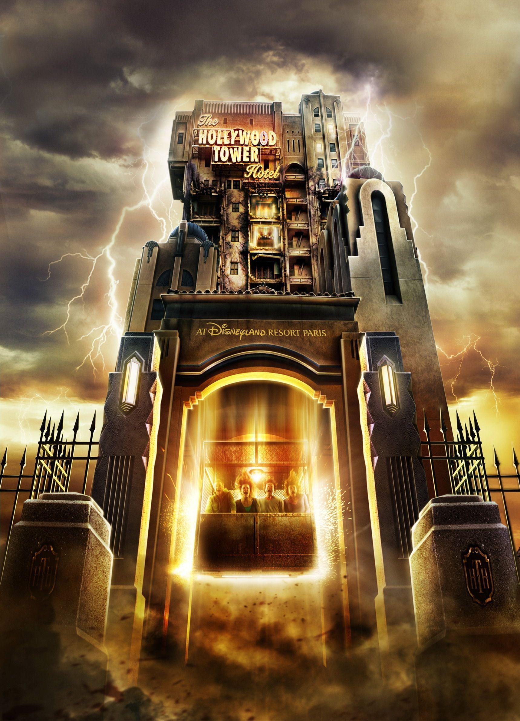 Tower of Terror Walt Disney Studios Paris