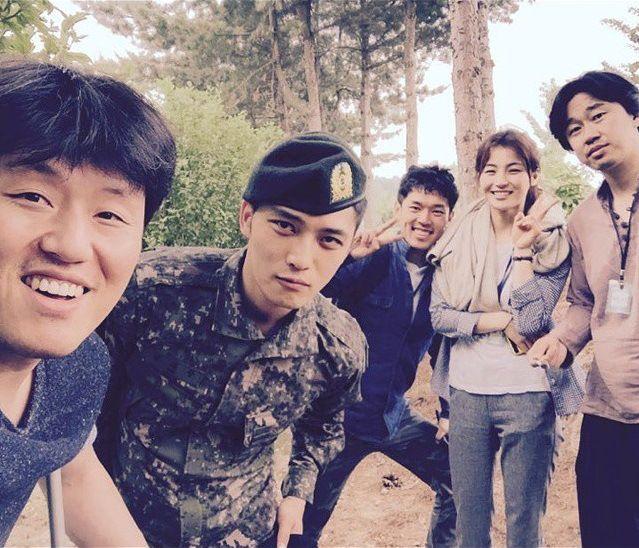 SPY's Cast visited Kim Jaejoong!