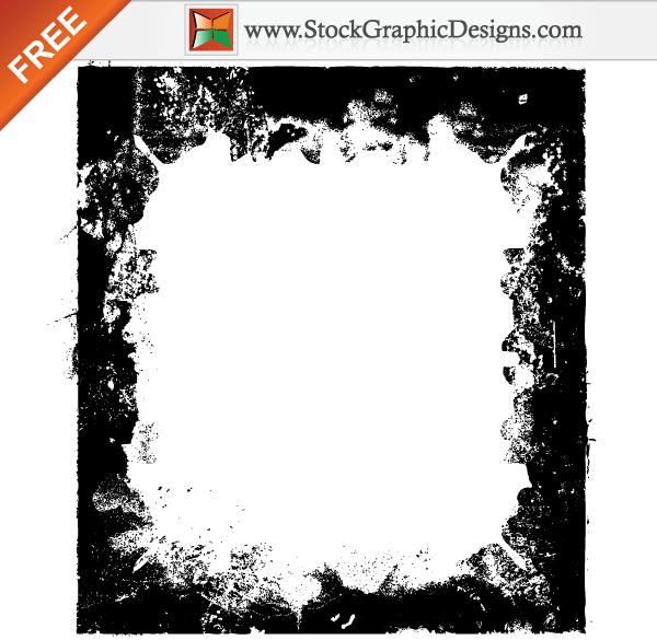 Free Grunge Border Frames Vector Vector Free Free Vector Graphics Adobe Illustrator Free