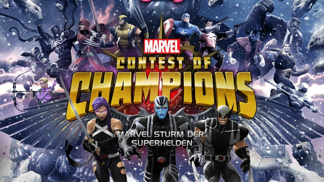 Pin by Dwayne North on Marvel Contest of champions, Play