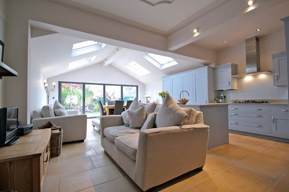 London Kitchen Extensions Open Plan Kitchen Living Room Home Kitchen Extension