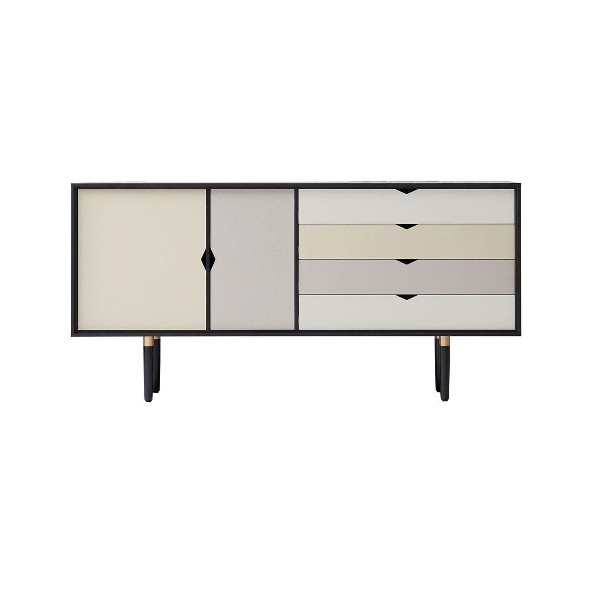 sideboard matt wei kommode sideboard rova korpus in wei. Black Bedroom Furniture Sets. Home Design Ideas