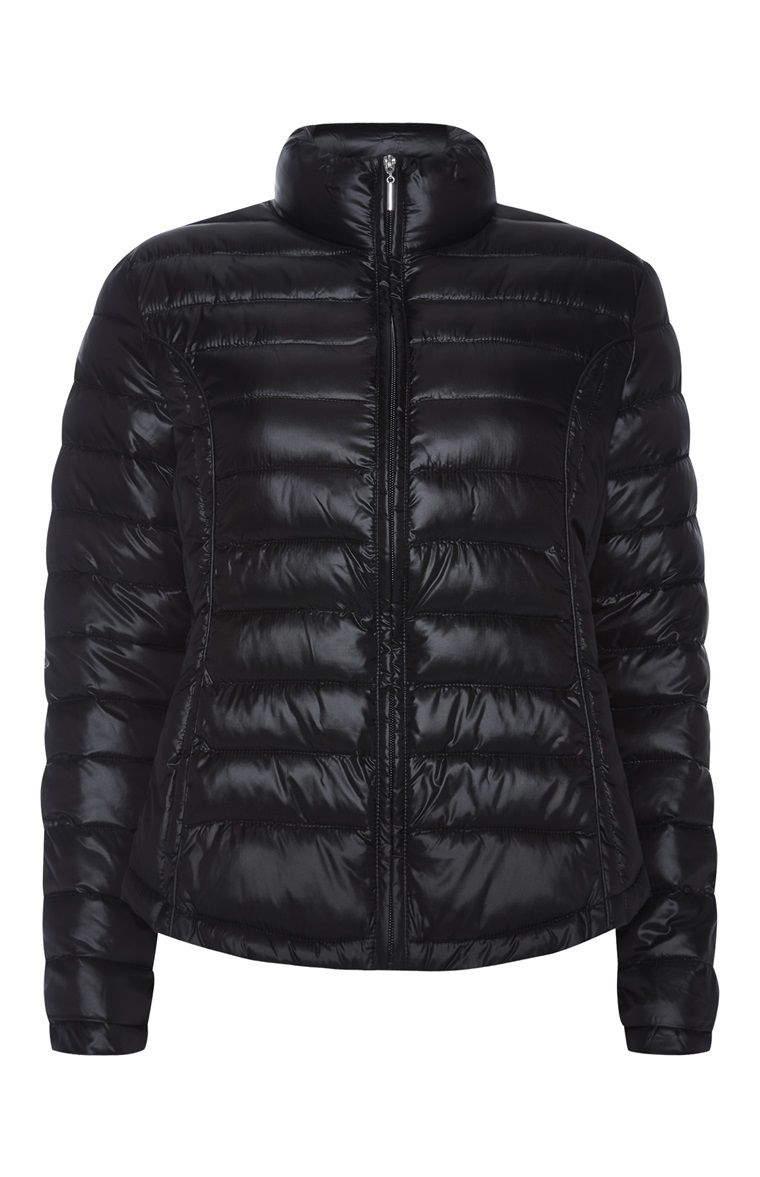Primark - Black Super Light Packable Jacket  122676882c