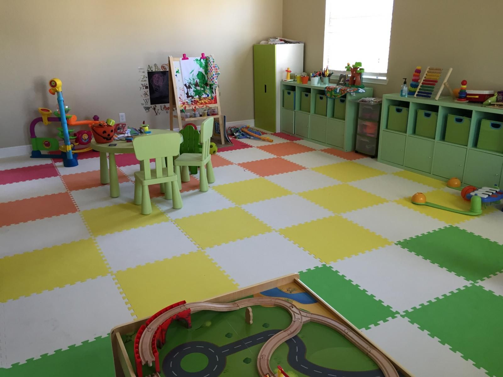 These Interlocking Foam Tiles Are An Ideal Option For Childrens