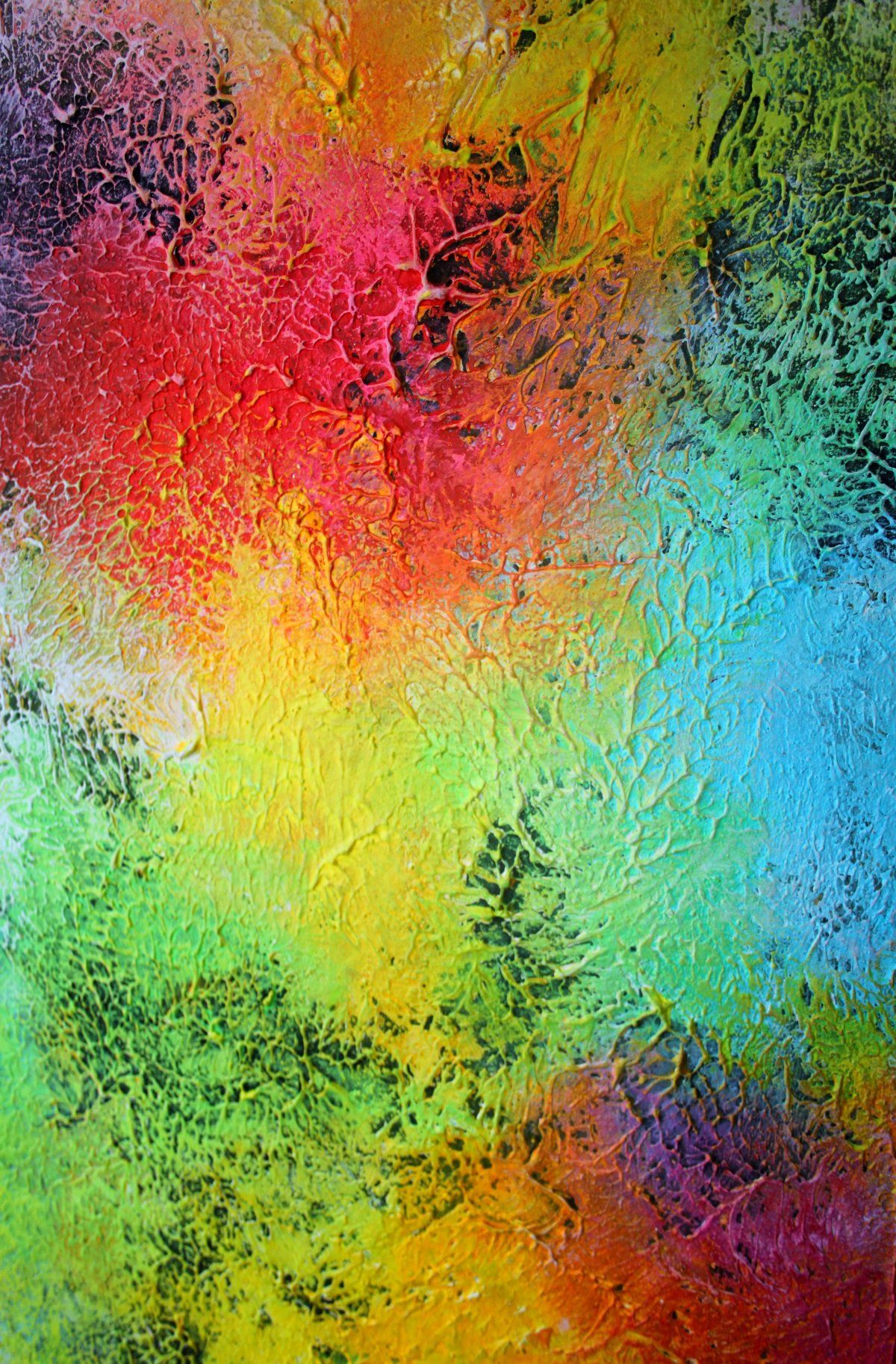 large abstract painting . original abstract art . Contemporary ...