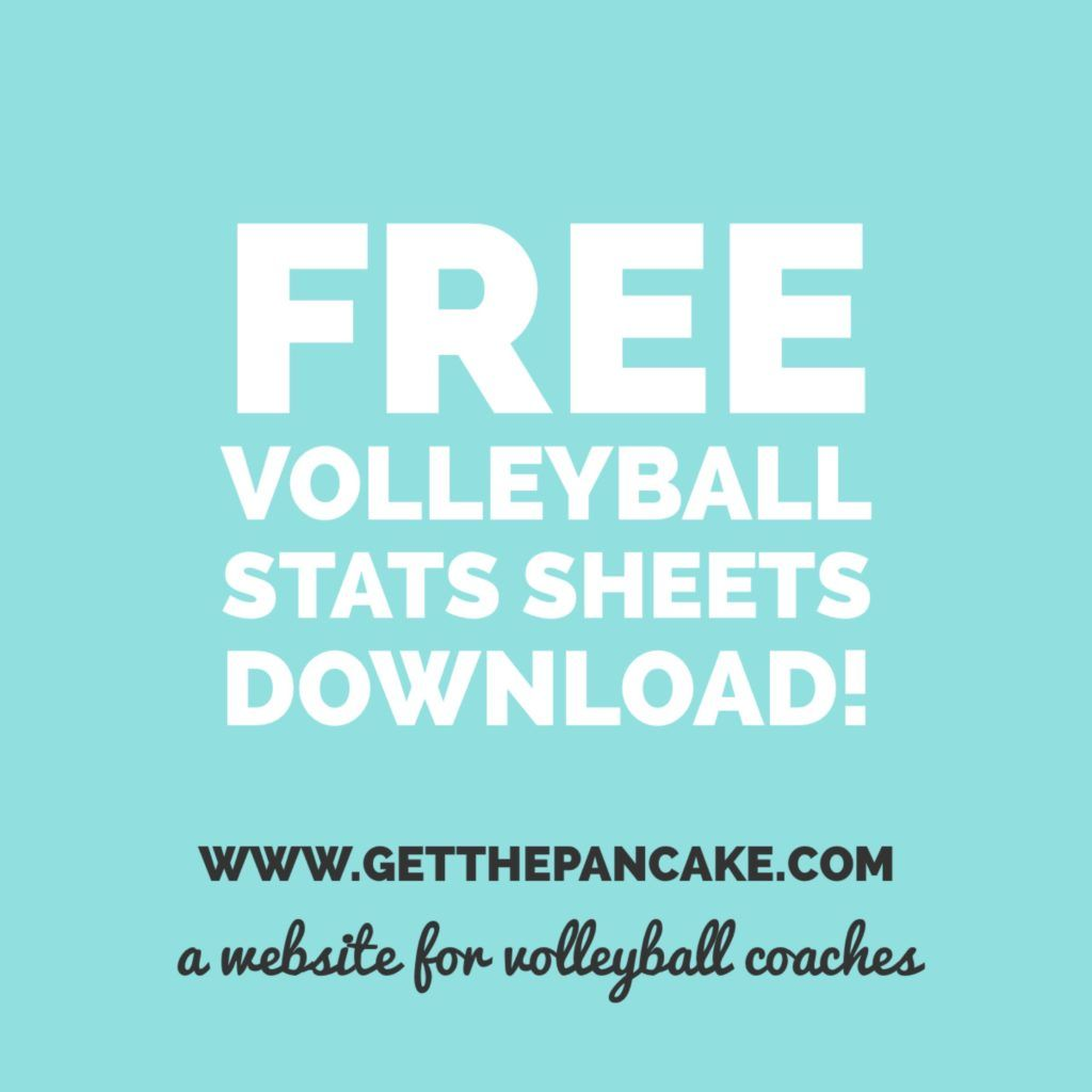 Free Volleyball Stats Sheets Download Coaching Volleyball Volleyball Volleyball Score Sheet