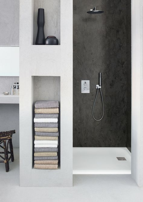duschwanne dusche rechteckig corian badewanne #badezimmer #bathroom