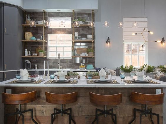 Property Brothers Take New Orleans Kitchen Decor Inspiration