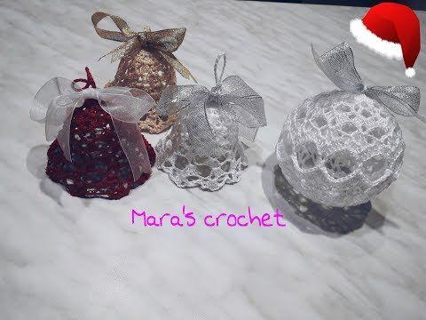 Photo of Crochet Christmas bauble # 3