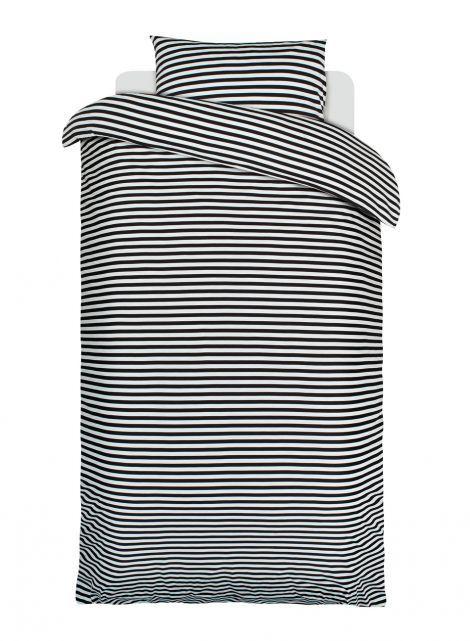 Tasaraita duvet cover set (black,white) |Décor, Bedroom, Duvet covers | Marimekko #modernsPIN