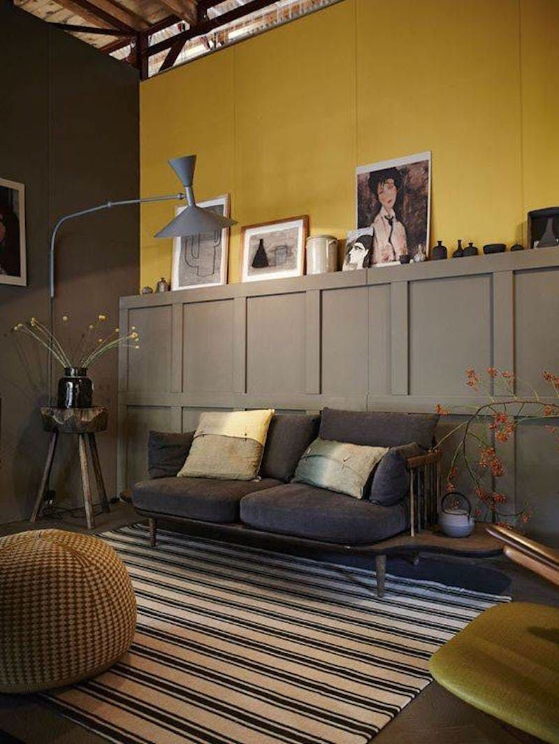 Creative Living Rooms For Style Inspiration Palette: Mondrian: Artist-Inspired Paint Color Palettes For Your