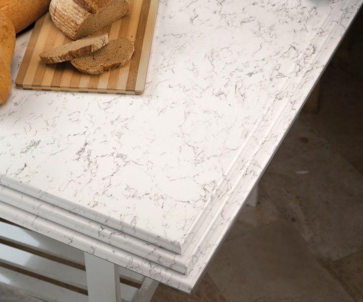 Arbeitsplatten aus Kunststein gehören immer mehr zur modernen - arbeitsplatte küche granit preis