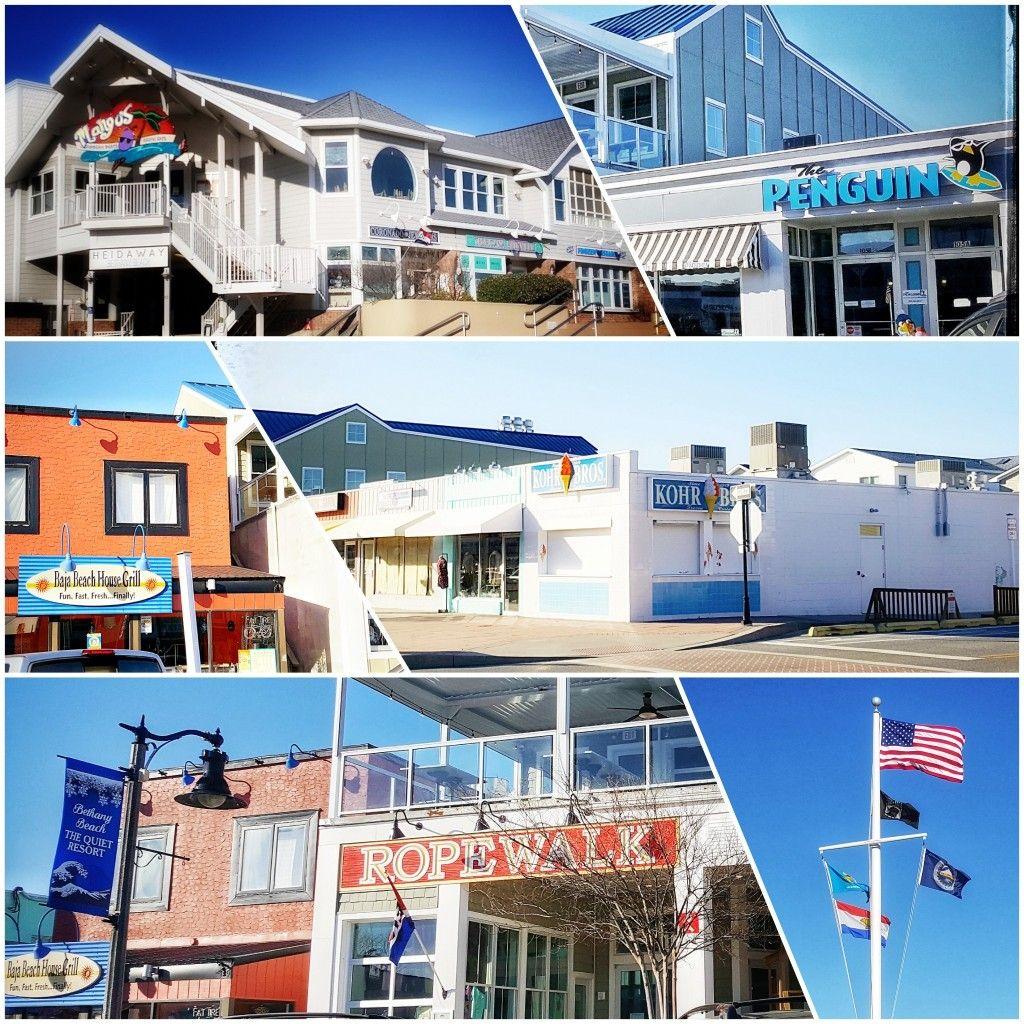 Delaware Coastal Town Of Bethany Beach
