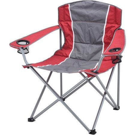 Ozark Trail Xxl Padded Folding Camping Chair With Cup