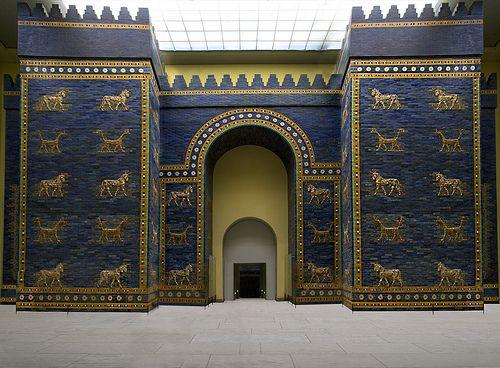 Isthar Gate Babilon Pergamon Museum Ishtar Pergamon