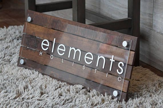 Custom Pallet or Reclaimed Wood Business Sign with Logo 10 ...