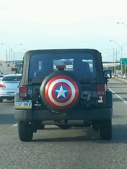 Captain America Jeep   Jeep o        o   Captain america ...