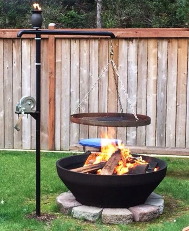 27 Easy Diy Bbq Fire Pit Ideas Anyone Can Make Fire Pit Bbq