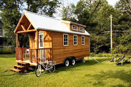 log cabin in wheels camping pinterest log cabins. Black Bedroom Furniture Sets. Home Design Ideas