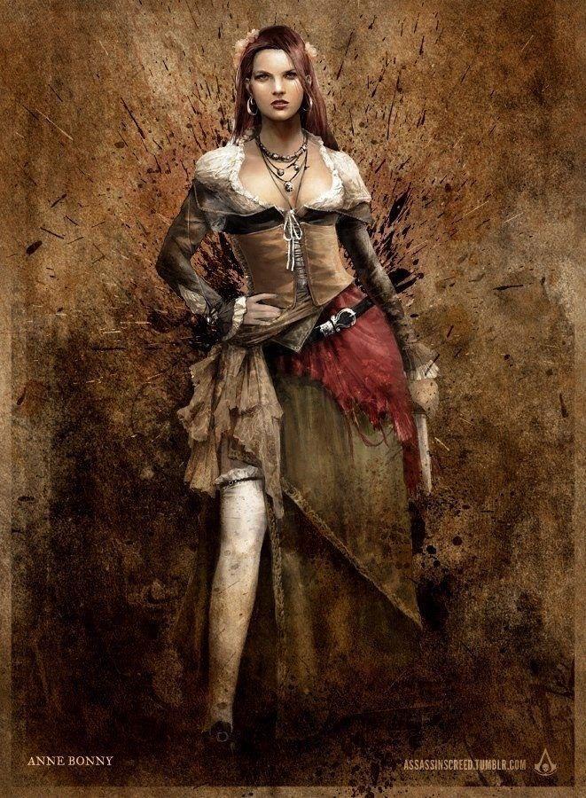 Anne Bonny Assassin S Creed France Assassins Creed Black Flag