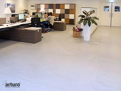 Gietvloer Den Bosch : Havl tilburg renovatie kantoor en showroom systeem: arturo pu2030