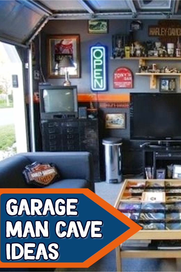 Man cave ideas garage man cave ideas on a budget cheap ways to turn your garage into a man cave cheap diy man cave ideas mancaveideas garageideas