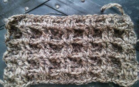 Simple Basket Stitch pattern Www.lindadeancrochet.com