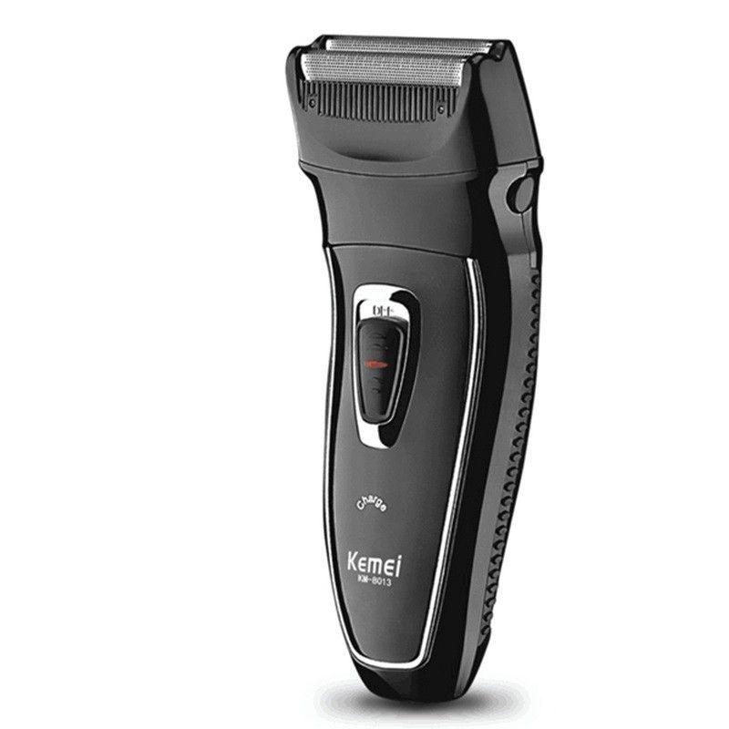 2016 Nueva kemei afeitadora para hombres cuidado facial razor Máquina de Afeitar eléctrica Rotatoria Recargable pelo trimmer Recargable EE. UU./UE enchufe