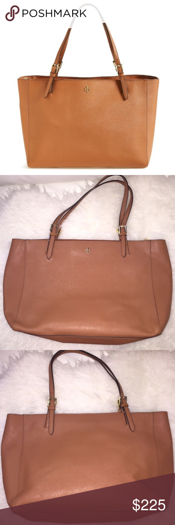 Tory Burch Large York Tote Authentic Tory Burch Large York Tote •  Great condition, Amazing deal!!   I'll only consider offers made with the offer button. No trades or low ball offers. My items are already extremely discounted and sell very fast. So, if you see something you like... make an offer! ❤️  Thanks for looking around my closet! I am always adding new items!   BUNDLE & SAVE 10%!  Top 10% rated seller// suggested user✨ Tory Burch Bags Totes