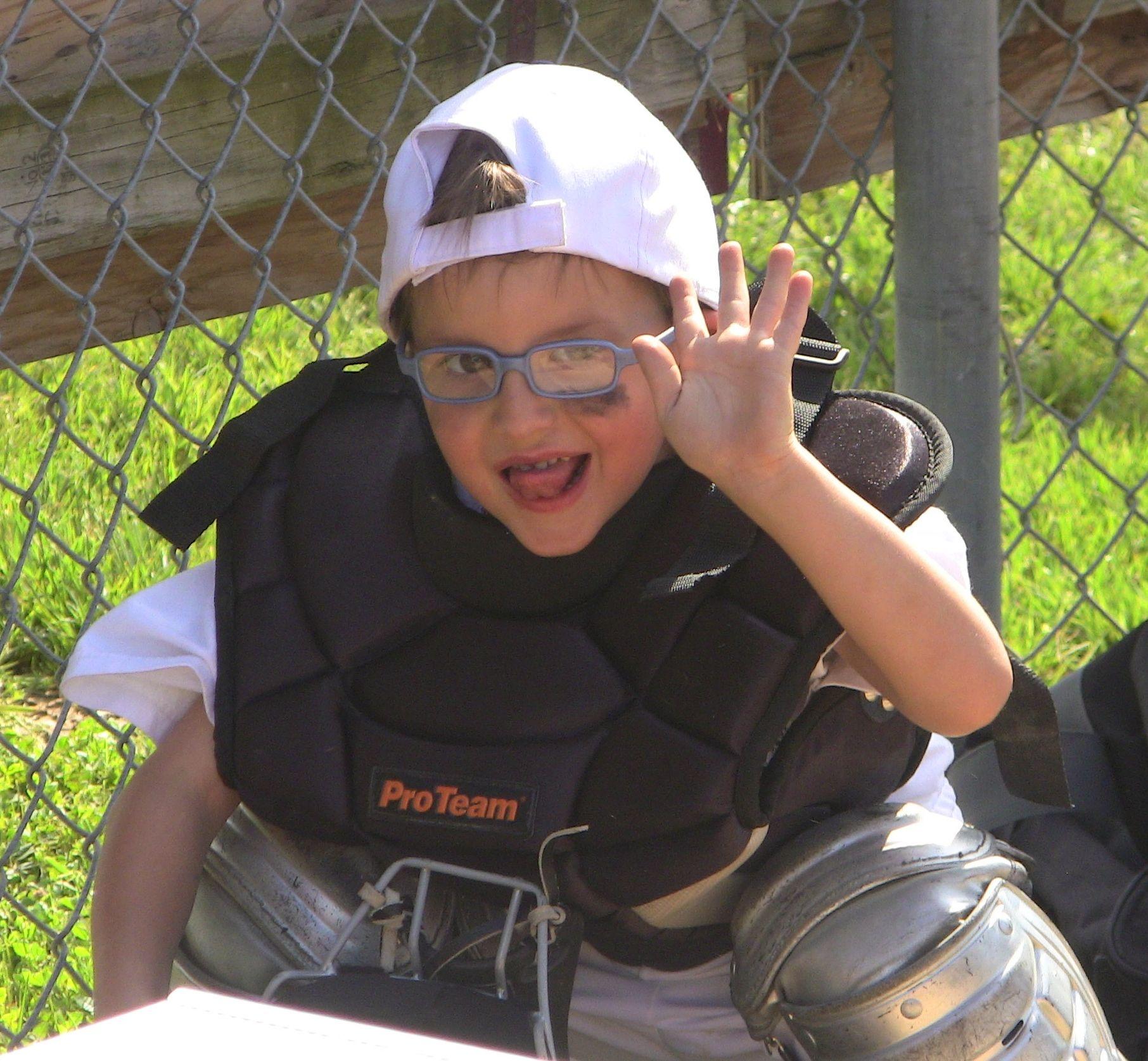 cutest catcher ever