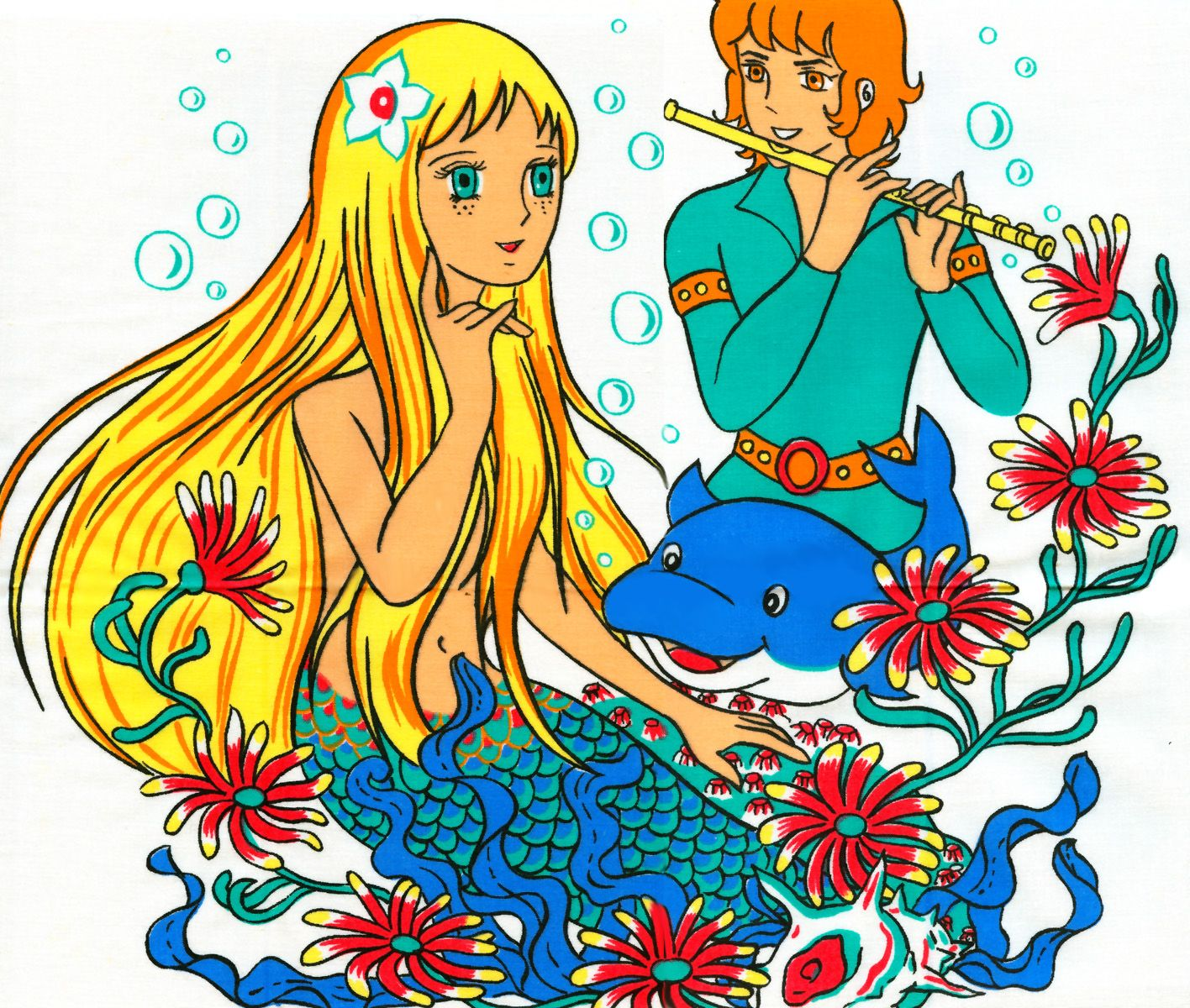 Die Kleine Seejungfrau - Andersen Douwa Ningyo Hime- The Mermaid ...