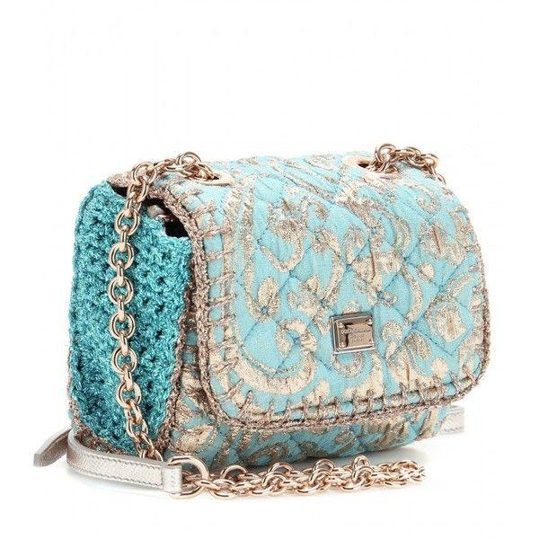 Dolce & Gabbana Jacquard Quilted Mini Shoulder Bag