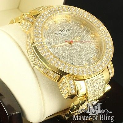 real diamond watch iced out mens solid steel yellow gold joe king real diamond watch iced out mens solid steel yellow gold joe king rodeo king ice