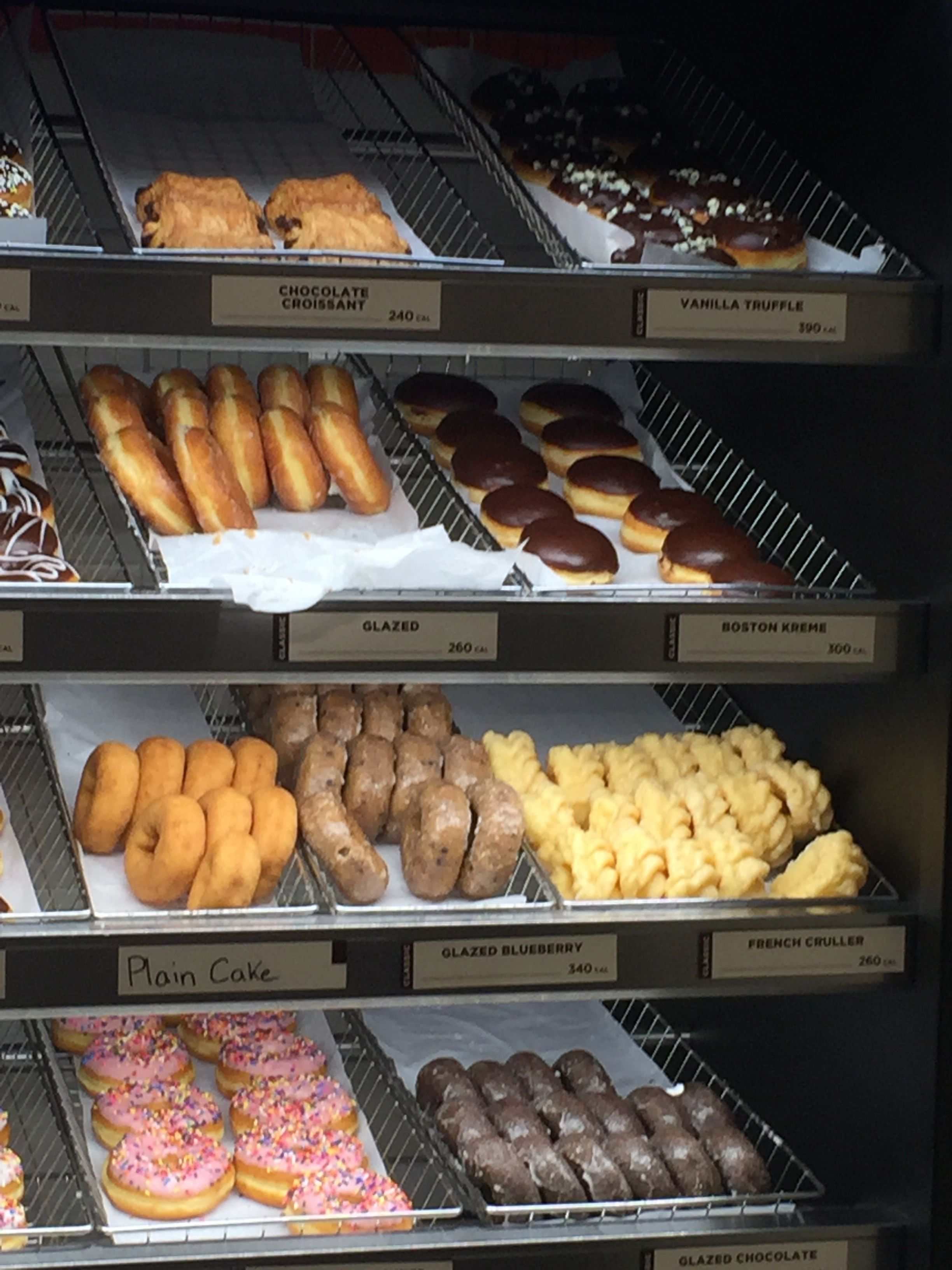Dunkin' Donuts, May 2017 Washington, DC Food, Dunkin
