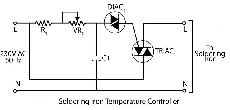 Soldering Iron Temperaturecontrol Circuit Is A Process In Which Change Of Temperature Of A Space Is Measured O Soldering Iron Soldering Temperature Control