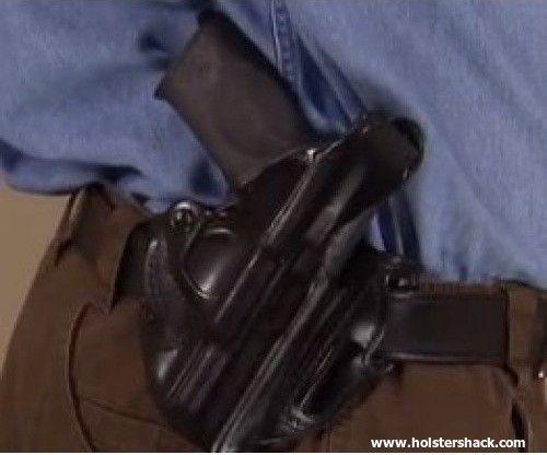 Desantis 001 Thumb Break Scabbard Belt Holster Right Hand