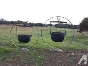 Antique Wash Pot Planters