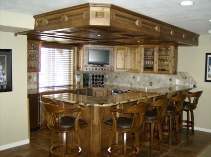 Basement Bar Idea | Projects To Try | Pinterest | Basements, Bar And Man  Caves