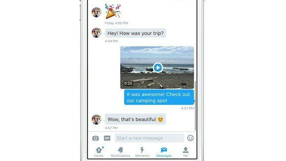 Twitter adds support for videos in direct messages http://ift.tt/1PIkd71  Twitter is on a roll: Shortly after enabling users to search for and send GIFs in tweets and direct messages the company introduced the ability to capture and share videos in direct messages.  The feature which moves Twitter one step closer to video-heavy services such as Snapchat is accessible through the old camera button which now gives you an option to record videos as well as photos.  SEE ALSO: Even God is…
